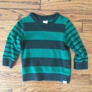 Baby Gap Stripe Long Sleeve Sweatshirt